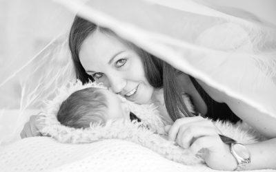 Newborn Shoot met Sven